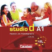 Cover-Bild zu Studio d, Deutsch als Fremdsprache, Grundstufe, A1: Gesamtband, Audio-CDs