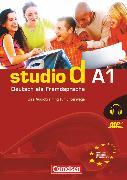 Cover-Bild zu Studio d, Deutsch als Fremdsprache, Grundstufe, A1: Gesamtband, Das MP3-Audiotraining für unterwegs von Funk, Hermann