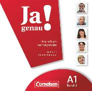 Cover-Bild zu Ja genau!, Deutsch als Fremdsprache, A1: Band 2, Audio-CD