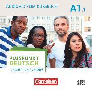 Cover-Bild zu Pluspunkt Deutsch - Leben in Deutschland, Allgemeine Ausgabe, A1: Teilband 1, Audio-CD zum Kursbuch, Enthält Dialoge, Hörtexte und Phonetikübungen