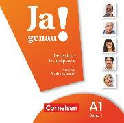 Cover-Bild zu Ja genau!, Deutsch als Fremdsprache, A1: Band 1, Audio-CD
