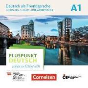 Cover-Bild zu Pluspunkt Deutsch - Leben in Österreich, A1, Audio-CDs zu Kurs- und Arbeitsbuch