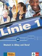 Cover-Bild zu Linie 1 A1. Kurs- und Übungsbuch mit Video und Audio auf DVD-ROM von Harst, Eva