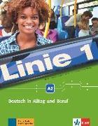 Cover-Bild zu Linie 1 A2. . Kurs- und Übungsbuch mit DVD-ROM von Dengler, Stefanie