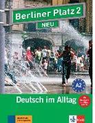 """Cover-Bild zu Berliner Platz 2 NEU - Lehr- und Arbeitsbuch 2 mit 2 Audio-CDs und """"Im Alltag EXTRA"""" von Lemcke, Christiane"""