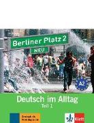 Cover-Bild zu Berliner Platz 2 NEU in Teilbänden - Audio-CD zum Lehrbuch, Teil 1 von Lemcke, Christiane
