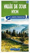 Cover-Bild zu Vallée de Joux - Nyon 25 Wanderkarte 1:40 000 matt laminiert. 1:40'000