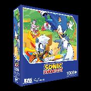 Cover-Bild zu Sonic The Hedgehog: Too Slow! Premium Puzzle (1000-pc)
