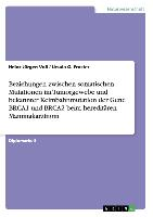Cover-Bild zu Beziehungen zwischen somatischen Mutationen im Tumorgewebe und bekannter Keimbahnmutation der Gene BRCA1 und BRCA2 beim hereditären Mammakarzinom von Froster, Ursula G.