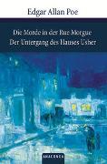 Cover-Bild zu Die Morde in der Rue Morgue / Der Untergang des Hauses Usher von Poe, Edgar Allan