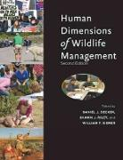 Cover-Bild zu Human Dimensions of Wildlife Management von Decker, Daniel J. (Hrsg.)