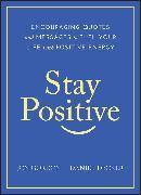 Cover-Bild zu Stay Positive (eBook) von Gordon, Jon