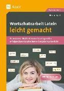 Cover-Bild zu Wortschatzarbeit Latein leicht gemacht von Bartl, Florian