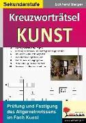 Cover-Bild zu Kreuzworträtsel Kunst (eBook) von Berger, Eckhard