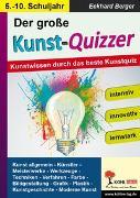 Cover-Bild zu Der große KUNST-QUIZZER (eBook) von Berger, Eckhard