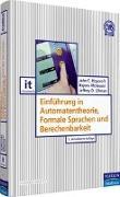 Cover-Bild zu Einführung in Automatentheorie, Formale Sprachen und Berechenbarkeit von Hopcroft, John E.