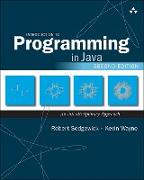 Cover-Bild zu Introduction to Programming in Java (eBook) von Sedgewick, Robert