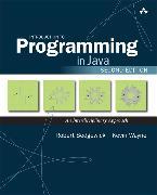 Cover-Bild zu Introduction to Programming in Java von Sedgewick, Robert