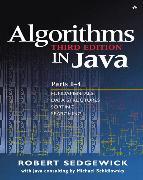 Cover-Bild zu Algorithms in Java, Parts 1-4 von Sedgewick, Robert