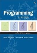 Cover-Bild zu Introduction to Programming in Python (eBook) von Sedgewick Robert