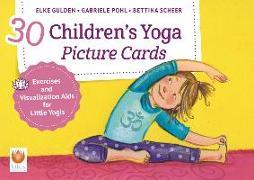 Cover-Bild zu 30 Children's Yoga Picture Cards von Gulden, Elke