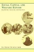 Cover-Bild zu Social Capital and Welfare Reform (eBook) von Schneider, Jo Anne