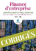 Cover-Bild zu Finance d'Entreprise 5e éd. Corrigés von Berk, Jonathan