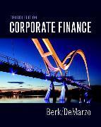 Cover-Bild zu Corporate Finance von Berk, Jonathan