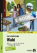 Cover-Bild zu Lernstationen: Wald (eBook) von Kremer, Gabriele