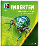 Cover-Bild zu WAS IST WAS Band 30 Insekten. Überlebenskünstler auf sechs Beinen von Rigos, Alexandra
