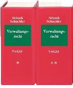 Cover-Bild zu Verwaltungsrecht VwGO - Verwaltungsgerichtsordnung von Schoch, Friedrich (Hrsg.)