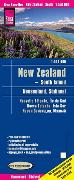 Cover-Bild zu Reise Know-How Landkarte Neuseeland, Südinsel (1:550.000). 1:550'000
