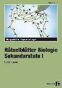 Cover-Bild zu Rätselblätter Biologie von Pichlhöfer, Petra