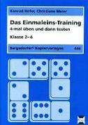 Cover-Bild zu Das Einmaleins-Training von Hofer, Konrad