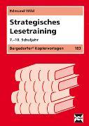 Cover-Bild zu Strategisches Lesetraining. 7. - 10. Schuljahr von Wild, Edmund