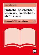 Cover-Bild zu Einfache Geschichten lesen und verstehen von Schmidtke, Inge