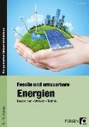 Cover-Bild zu Fossile und erneuerbare Energien von Eggert, Jens