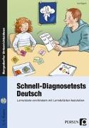 Cover-Bild zu Schnell-Diagnosetests: Deutsch von Eggert, Jens