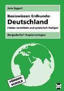 Cover-Bild zu Basiswissen Erdkunde: Deutschland von Eggert, Jens