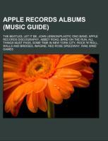 Cover-Bild zu Apple Records albums (Music Guide)