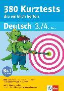 Cover-Bild zu Klett 380 Kurztests, die wirklich helfen - Deutsch 3./4. Klasse (eBook) von Lassert, Ursula
