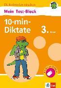 Cover-Bild zu Klett Mein Test-Block 10-min-Diktate 3. Klasse (eBook) von Lassert, Ursula