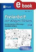 Cover-Bild zu Freiarbeit mit Bildgeschichten - Klasse 3 und 4 (eBook) von Lassert, Ursula