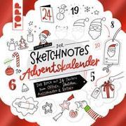 Cover-Bild zu Der Sketchnotes Adventskalender von Roßa, Nadine