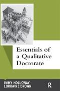 Cover-Bild zu Essentials of a Qualitative Doctorate (eBook) von Holloway, Immy