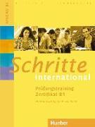 Cover-Bild zu Schritte international. Prüfungstraining Zertifikat B1 von Werff, Frauke van der