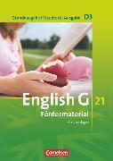 Cover-Bild zu English G 21, Grundausgabe D/Erweiterte Ausgabe D, Band 3: 7. Schuljahr, Fördermaterial, Kopiervorlagen