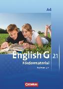 Cover-Bild zu English G 21, Ausgabe A, Band 4: 8. Schuljahr, Fördermaterial, Kopiervorlagen