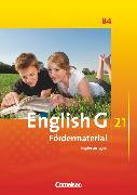 Cover-Bild zu English G 21, Ausgabe B, Band 4: 8. Schuljahr, Fördermaterial, Kopiervorlagen