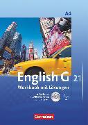 Cover-Bild zu English G 21, Ausgabe A, Band 4: 8. Schuljahr, Workbook mit CD-ROM (e-Workbook) und CD - Lehrerfassung von Seidl, Jennifer